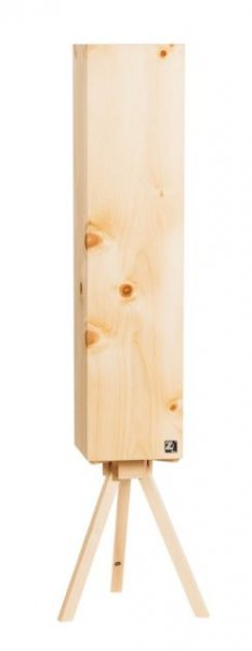 Zirbenlüfter Modell Cube 4 - Zirbenlampen aus hochwertigem Zirbenholz