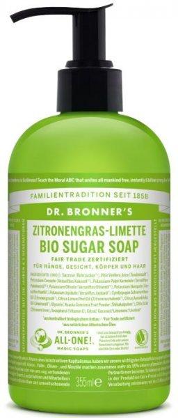 Flüssigseife Lemongrass & Limette 355ml Dr. Bronner's