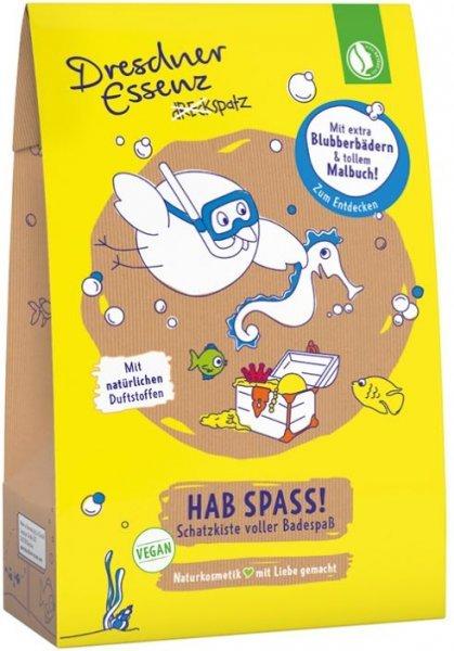 "Dreckspatz Geschenkset Badetüte ""Hab Spass"""