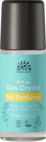 No Perfume Deo Roll-On Crystal 50ml - ohne Duftstoffe, mit Mineralsalz