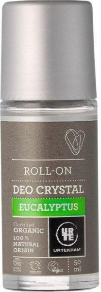 Deo Roll-On Crystal von Urtekram mit Eukalyptus & Lavendel
