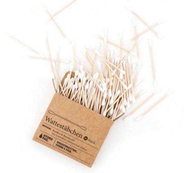 Wattestäbchen aus Bambus & Baumwolle Hydro Phil - 100 Stück