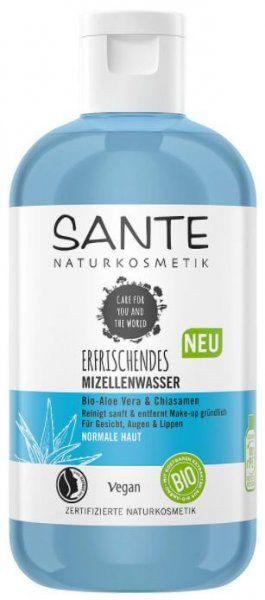 Erfrischendes Mizellenwasser Bio-Aloe Vera & Chiasamen 200ml von SANTE Naturkosmetik