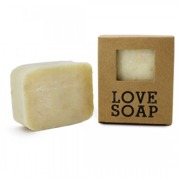 Love Soap Peeling Seife mit Arvenholz, Palmölfrei mit 80g