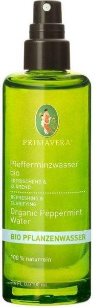 Pfefferminzwasser Bio 100ml von Primavera - 100% natürlich