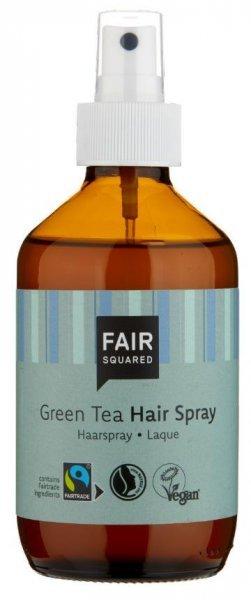 der vegane Haarspray Grüntee 240ml von Fair Squared